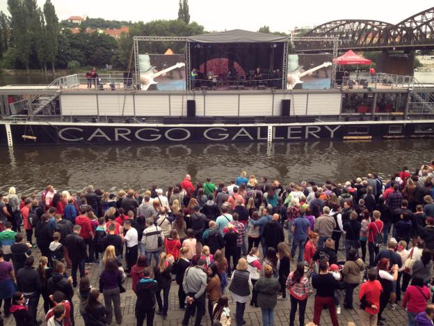 Playtvak.cz odstartoval na pražské náplavce