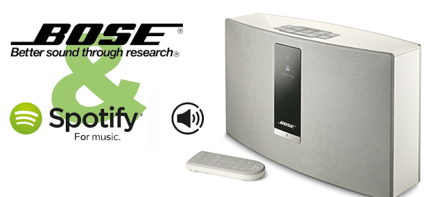 Cloudový poslech hudby – Bose SoundTouch 20 III & Spotify connect