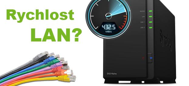 Jak zjistit rychlost lokální sítě?