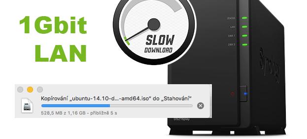 Pomalá Samba (SMB) na Macu