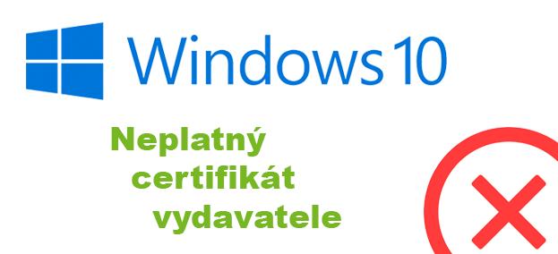 Jak obejít blokování vydavatele na Windows 10